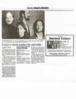 Contra Costa Times Future's Vision Reaches Far and Wide Article 2-11-94