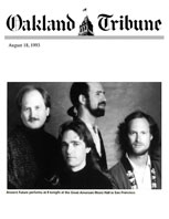 Oakland Tribune Photo Feature 8-18-93