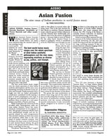 India Currents Asian Fusion Nine Rasas Article July 93