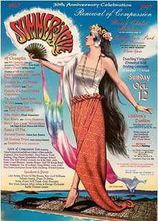Summer of Love 30th Anniversary Poster