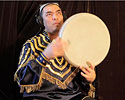 Abbos Kosimov Plays Percussion