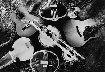 Photo of Instruments from Visions of a Peaceful Planet by Ancient Future