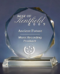 Best of Kentfield 2009 Music Recording and Producer