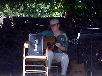 Matthew Montfort Performing