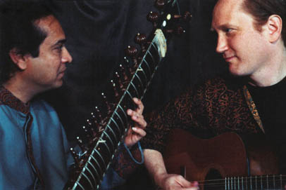 Photo of Matthew Montfort and Habib Khan