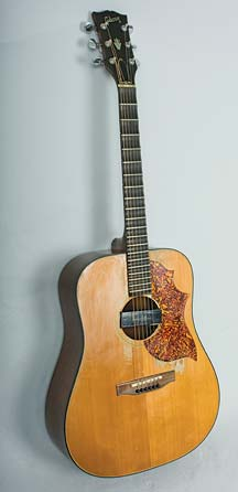 Photo of Matthew Montfort's Scalloped Fretboard Guitar